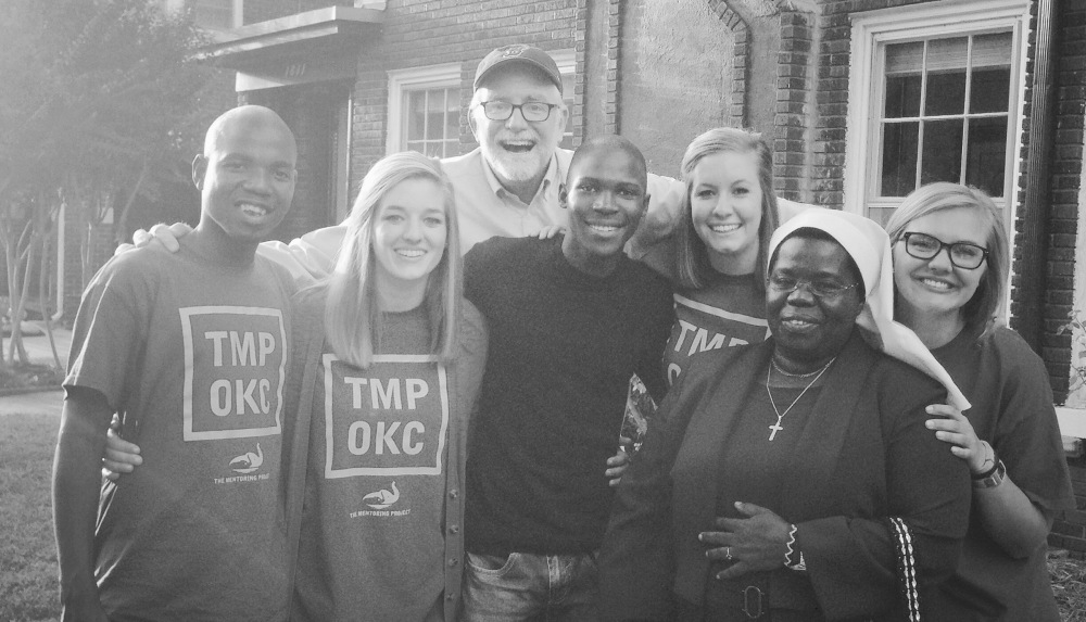 The Ubuntu Youth team with Bob Goff, author of